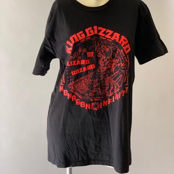 441384ba7 Shirts | King Gizzard And The Lizard Wizard Black T Size M | Poshmark